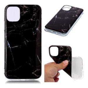 iPhone 7/8 Plus Marble Case Zwart/Wit