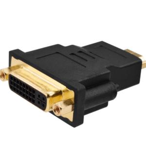 HDMI mannelijk naar DVI vrouwelijk adapter
