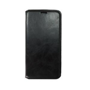iPhone 11 Pro Max Luxe Book Case Zwart/Bruin/Goud