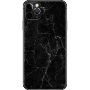iPhone 11 Pro Marble Case Zwart/Wit