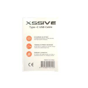XSSIVE USB Type-C naar USB Data/Oplaadkabel