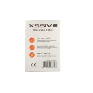 XSSIVE Micro USB naar USB Data/Oplaadkabel