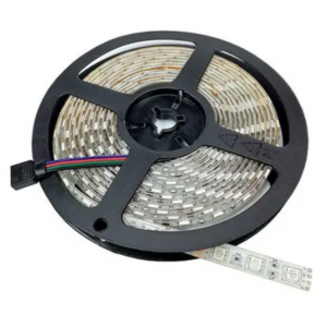 Gekleurde Led Strip met Adapter en Afstandbediening - 3M/5M