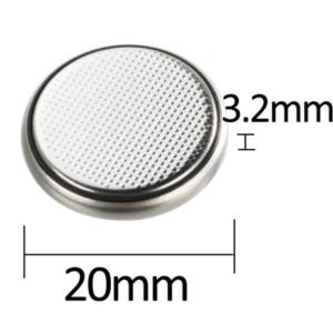 CR2032 3V Lithium Knoopcel Batterij - 5 Stuks