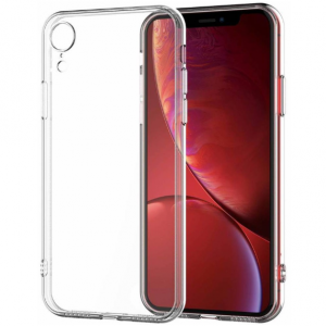 iPhone XR Transparant Silicone case