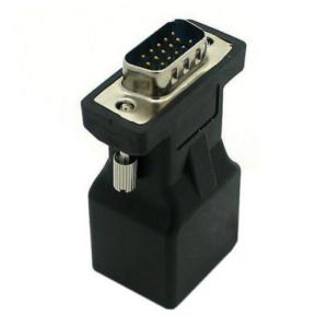 2 Stuks VGA naar RJ45 Extender Adapter - Zwart