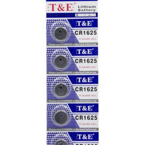 CR1625 3V Lithium Knoopcel Batterij - 5 Stuks