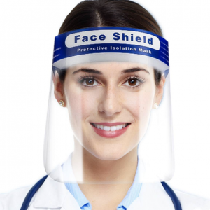 Gezichtsbeschermer Face Shield Verstelbaar met hoofdband - Transparant protectie masker
