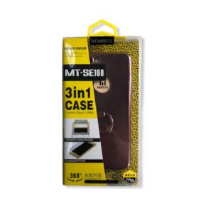 360° protectie met 3 in 1 Full Cover Case voor iPhone 7 Plus / 8 Plus Hoesje