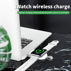 Magnetische Apple Watch USB Oplader - Wit