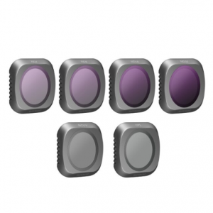 DJI Mavic 2 Pro Camera lens filter set MCUV, ND4, ND8, ND16, ND32, CPL - 6 Delig