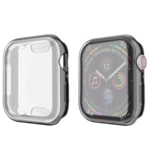 Apple Watch Flexibele TPU Hoesje Zwart - 40mm/44mm