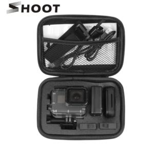 GoPro Compacte Case Opslag Box - Zwart