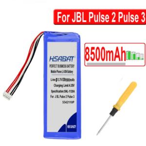 JBL Pulse 2 / Pulse 3 Batterij 3.7V 8500 mAh - 5542110P