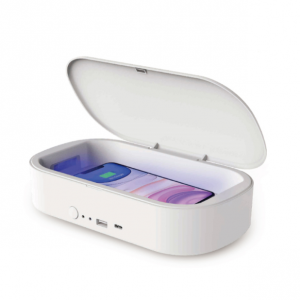 XSSIVE UV Desinfectie Box Sterilisator + Wireless Charger - Wit