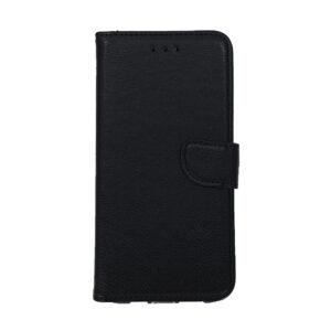 iPhone 12 Mini Luxe Book Case Zwart/Bruin/Donker Groen
