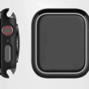 Apple Watch Thin Fit Bumper Case - Zwart