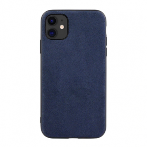 iPhone 12 / 12 Pro Alcantara Case - Blauw